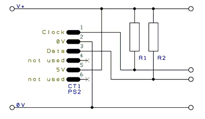 midi keyboard wiring diagram with Wiring Diagram For Ps2 Controller To Usb on Usb Pc Card in addition Usb Wiring Diagram Wires likewise Ps2 To Serial Wiring Diagram together with Midi Wire Diagram furthermore Wiring Diagram For Ps2 Controller To Usb.